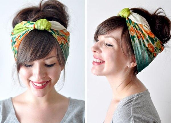 Сделать повязку на голову своими руками в стиле чикаго