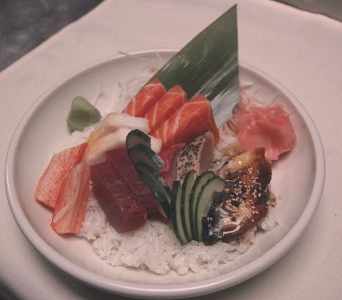 """Как приготовить чираши-суши, """"ленивые суши"""""""