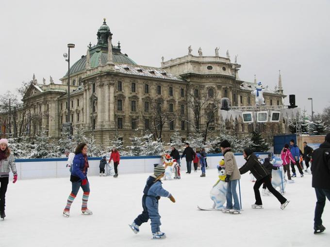 Путешествие в старину: очарование зимнего Мюнхена