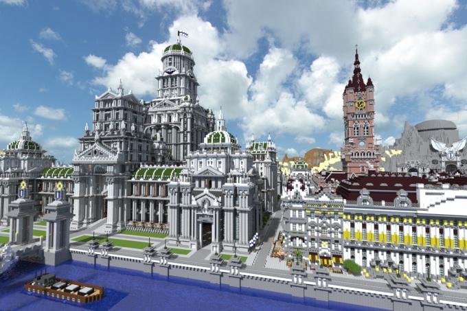 как построить город в майнкрафте