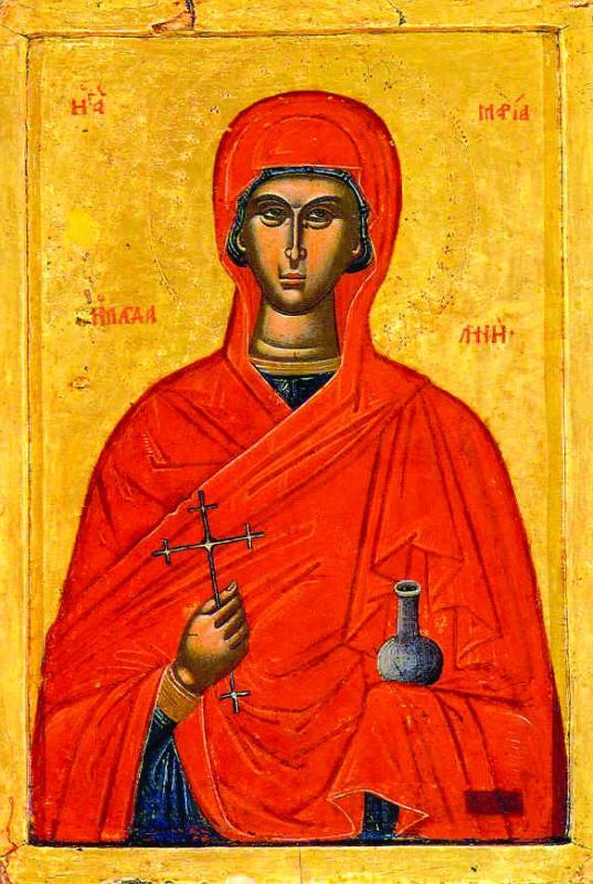 Святая Мария Магдалина: некоторые факты из жизни