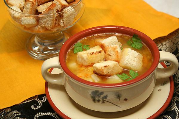 Как приготовить пражский чесночный суп (чеснечка)