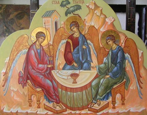 Как понимать, что христианский Бог един, но троичен в Лицах