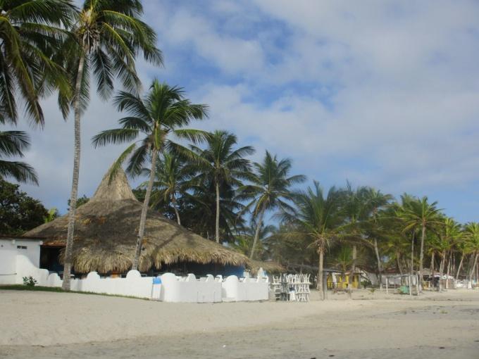 Пляж Эль Агуа