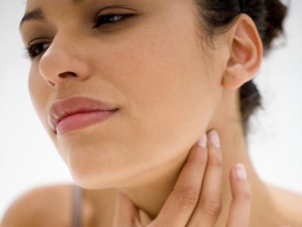 a sore throat photos