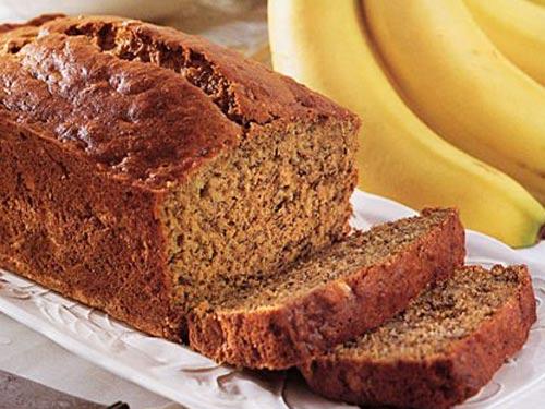 Банановый хлеб: рецепт