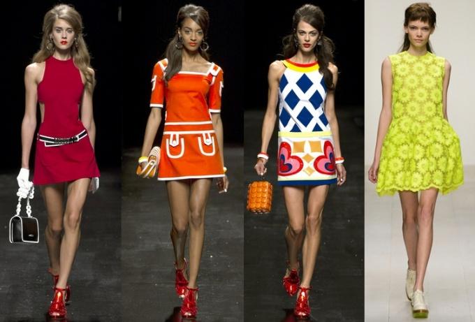 Какие платья в моде в 2015 году