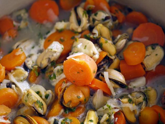 Как приготовить мидии в сливочном соусе