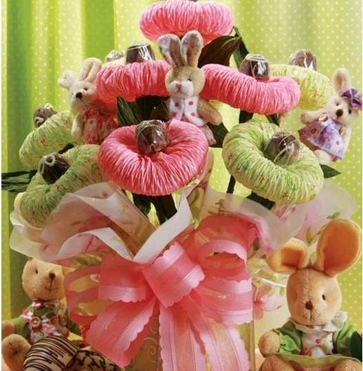 Цветы и игрушки своими руками