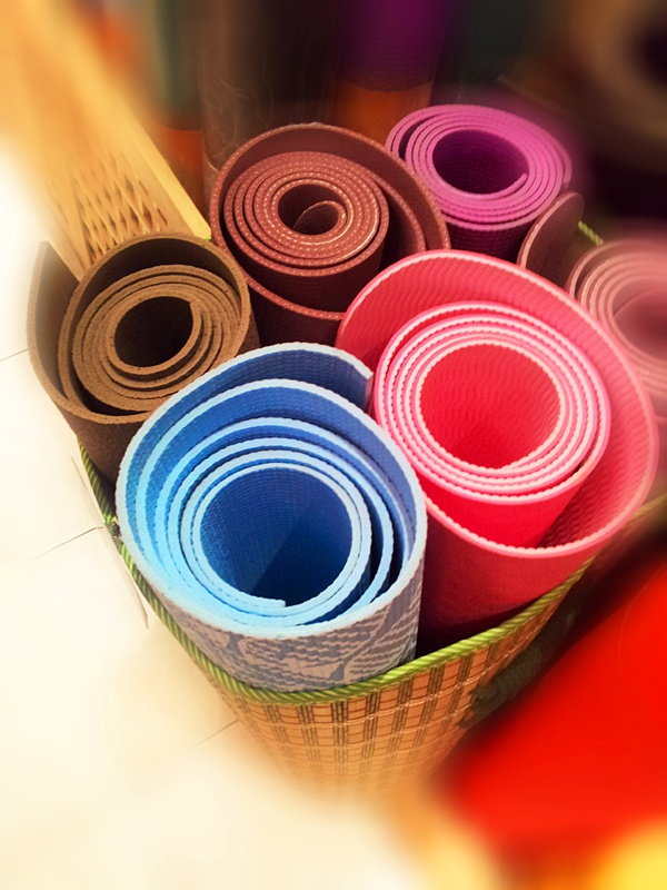 Choosing a carpet for yoga!