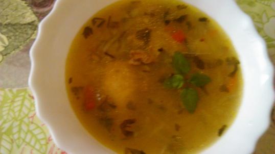 """Суп из индейки """"Нежный"""""""