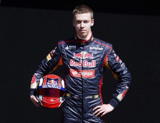 Даниил Квят - самый молодой пилот Ф-1, набравший очки в сезоне.