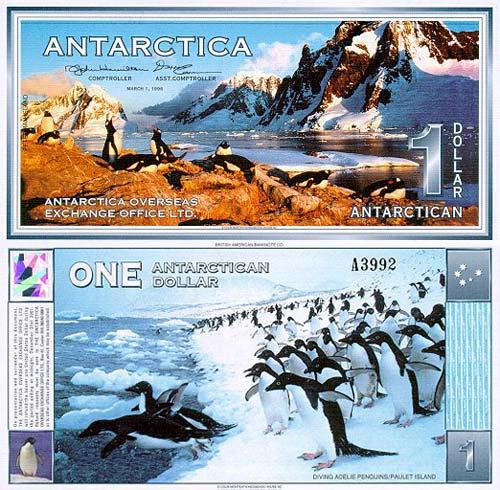 Какая валюта в Антарктиде