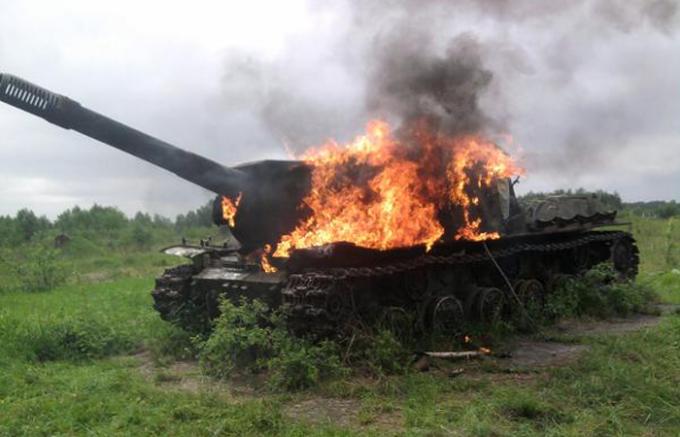 Как поджечь танк в World of Tanks
