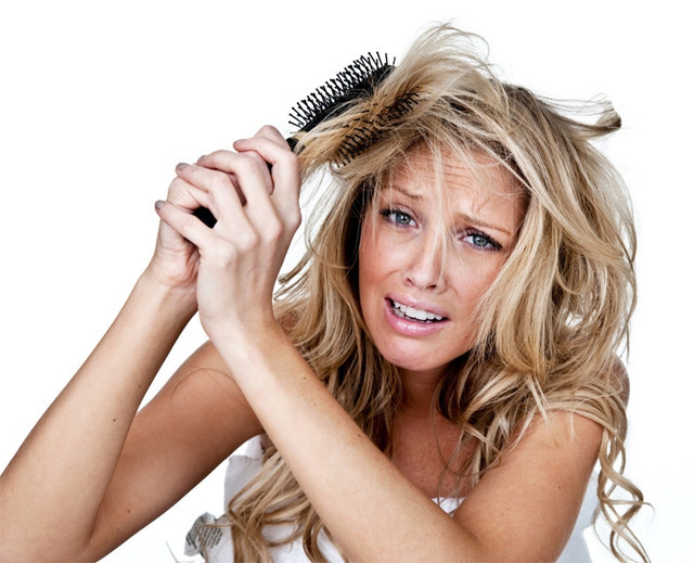 Что делать, если волосы сухие