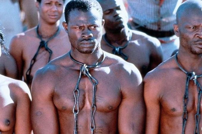 Страна, в которой процветает рабство