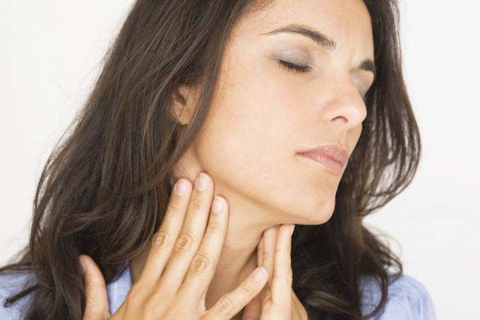How to quickly reduce inflammation in the throat