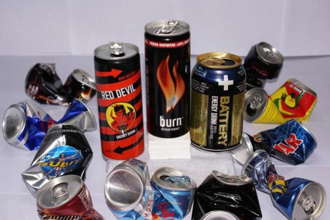 Что известно об энергетических напитках?