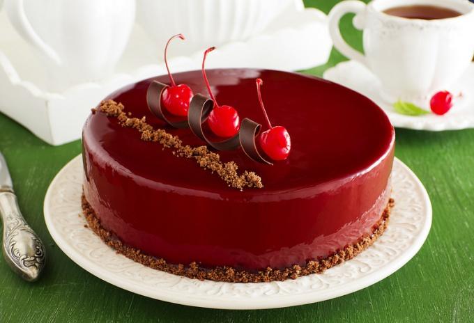 Торт из зефиров