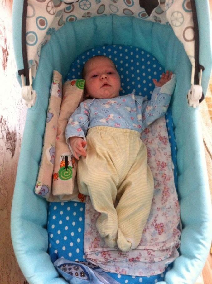 Как легко укачать ребенка спать