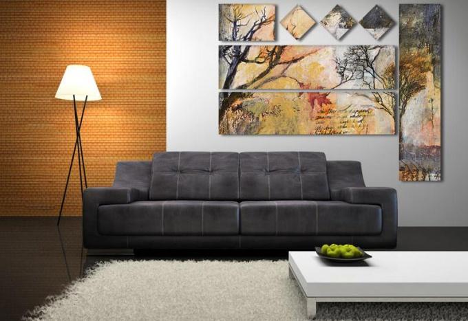 Как выбрать картину для украшения дома