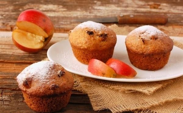 Как приготовить кекс с яблоками