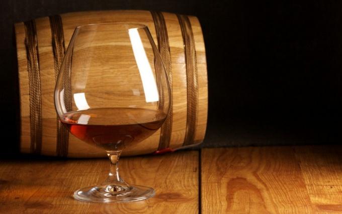 Homemade brandy