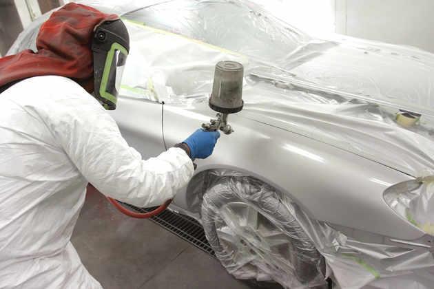 Учимся красить машину: техника покраски, положение краскопульта, правила