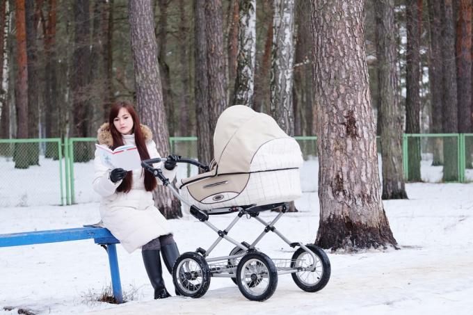 гулять на улице с коляской зимой и не мерзнуть