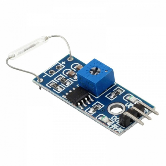 Module with reed