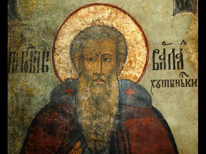 Краткая биография преподобного Варлаама Хутынского
