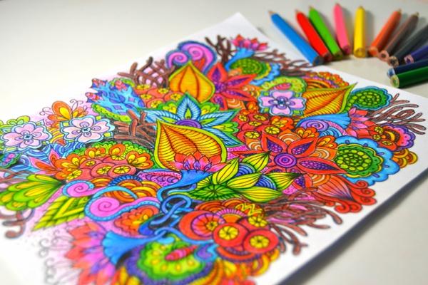 doodling are observed