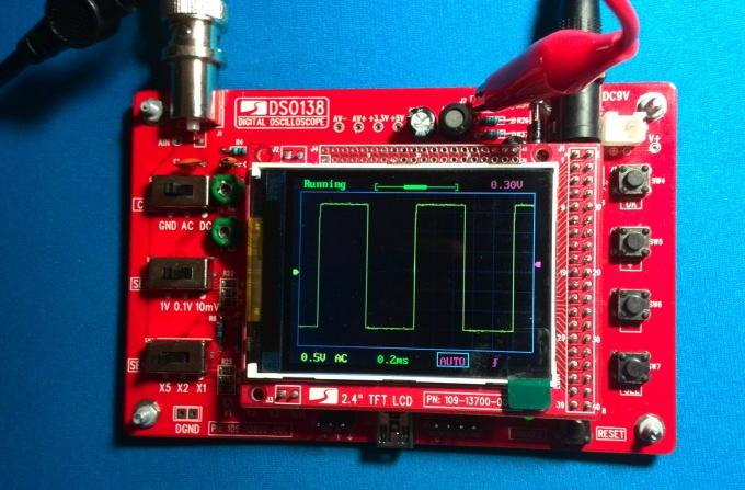Цифровой осциллограф DSO138