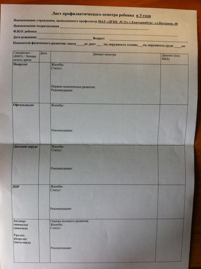 Bypass list for the nursery fee