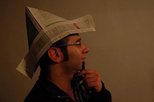 Как сделать шляпу из бумаги