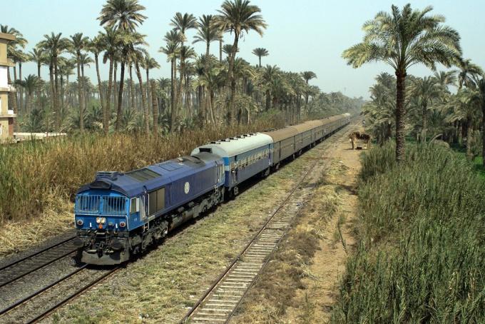 Есть способы добраться до Египта на поезде