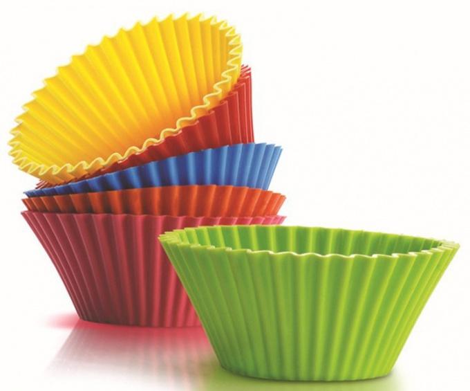 Как применять силиконовые формы для кексов и маффинов
