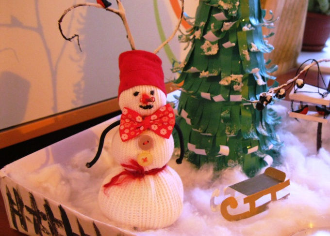 Снеговик сделанный своими руками фото 138