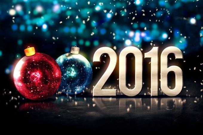 новый год 2016 фото