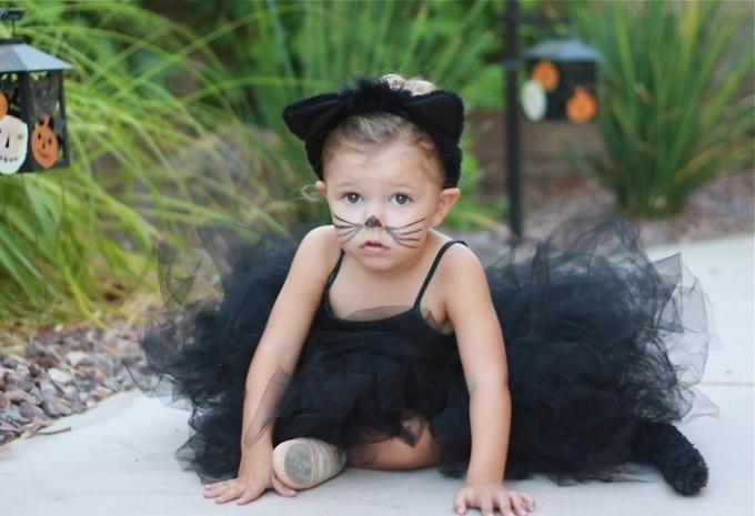 Детский костюм кошки