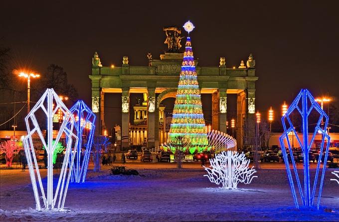 Где отдохнуть в Москве на Новый год бесплатно