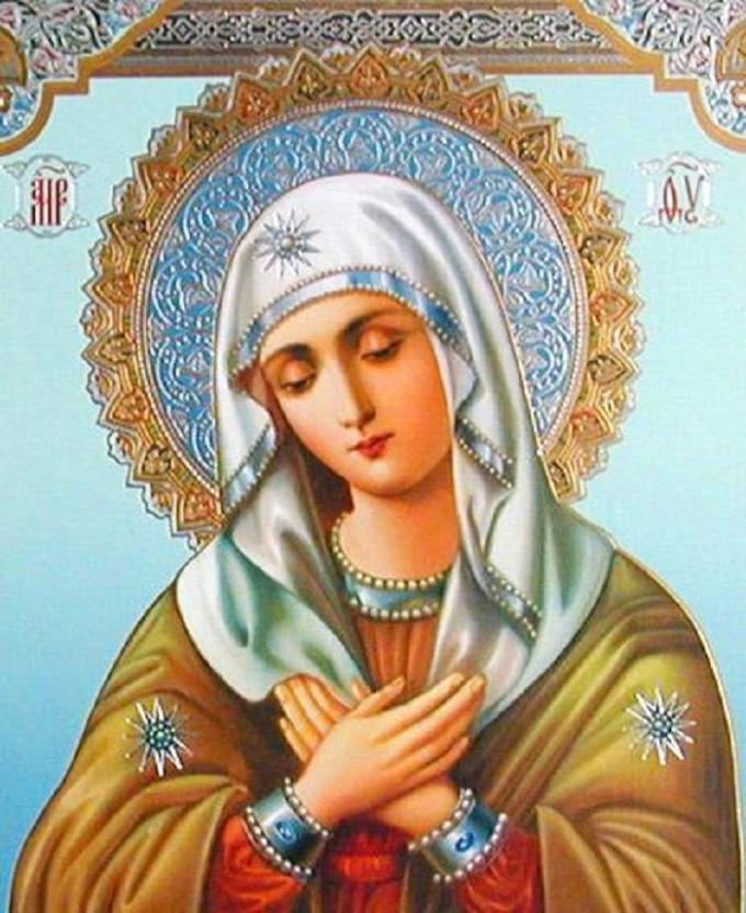 Отчего на иконах Богородицы изображаются три звезды