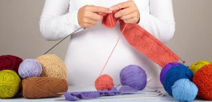 хобби вязание