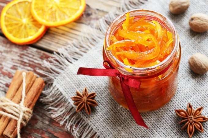 Варенье из апельсиновых корок