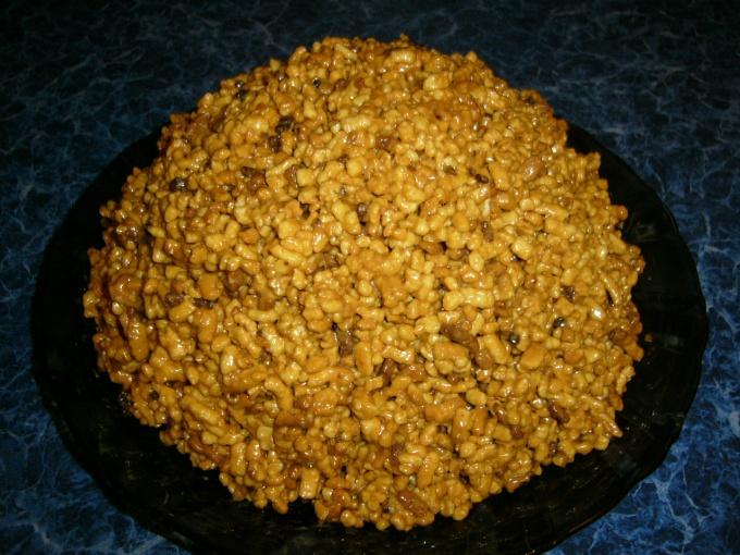 Муравейник с медом торт рецепт