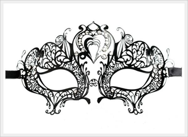 шаблон ажурной маски