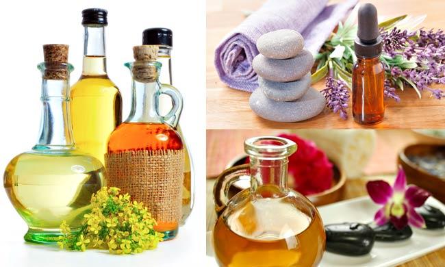 Different essential oils