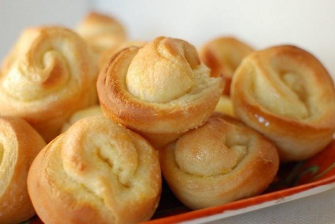 Готовим апельсиновые булочки