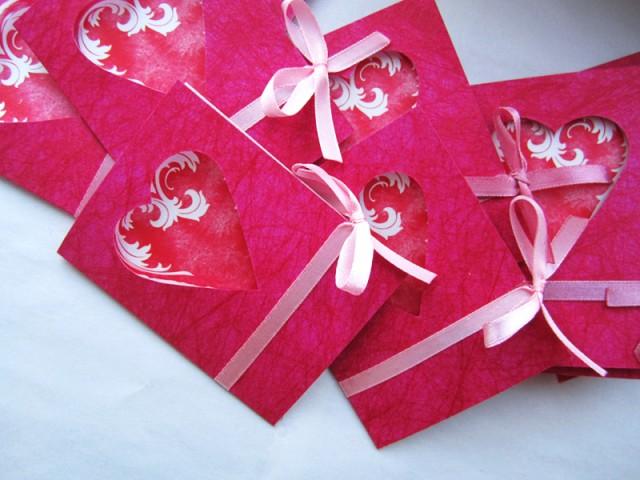 Как сделать красивую валентинку из бумаги