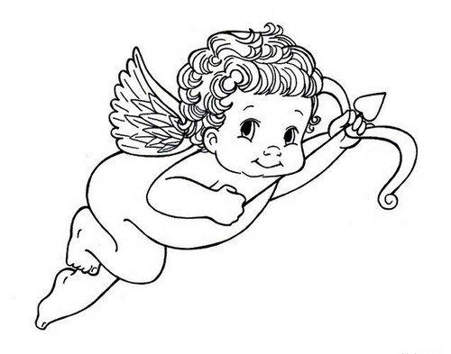 Как нарисовать Купидона - пошаговая инструкция